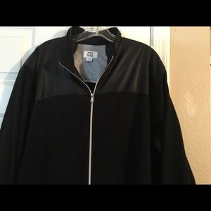 Cutter & Buck lightweight black fleece jacket XL